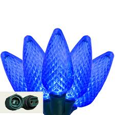 led lights commercial 25 sapphire blue c9 led