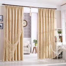80 Inch Curtains 80 Inch Drop Curtains Beautiful Beige Blackout Polyester Living