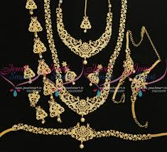 wedding jewellery sets gold bridal sets jewelsmart