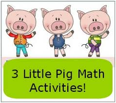 pigs math activities freebies math activities