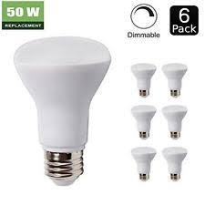 philips 451849 8watt 50watt r20 indoor flood led light bulb