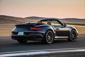 porsche s cabriolet 2017 porsche 911 turbo s cabriolet road test