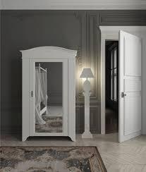 Hinged Wardrobe Doors Traditional Wardrobe Solid Wood With Hinged Door Mirrored