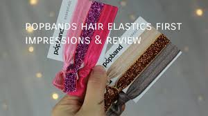 pop bands hair popband hair elastics impressions review chee styles
