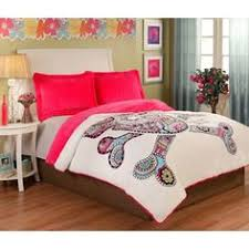Rainbow Comforter Set Amplify The Look Of Your Bedroom With The Vibrant Lace Chevron