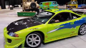 mitsubishi eclipse paul walker u0027s mitsubishi eclipse gs from fast u0026 furious youtube
