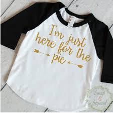 thanksgiving shirt i m just here for the pie pumpkin pie shirt