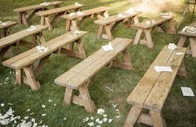 bench rentals custom wood bench supply event rentals planning manhattan