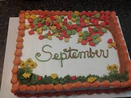 chocolate cake with whipped icing for september b days at