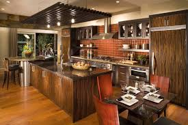 big kitchen ideas pastel wall paint and interesting lighting concept in kitchen