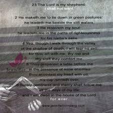 Thy Rod And Thy Staff Comfort Me Christian Psychic Psalm 23 Jennifer Lonnberg