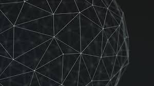full hd wallpaper line figure polygon black and white desktop