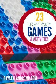 23 lego party games u0026 activities lego anniversaire lego et