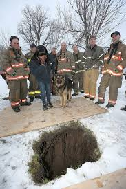 New York Sinkhole Map by After Buffalo Sinkhole Swallows German Shepherd Firefighters Come