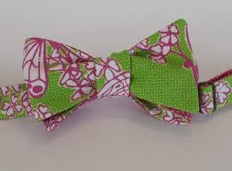 designer butterfly pink and green bow tie great knots