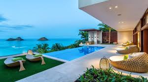 Hawaiian House Home Of The Week A Modern Hawaiian Hillside Estate Youtube