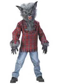scary costumes for kids child wolfman costume kids wolfman costumes