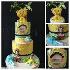 Lion King Baby Shower Cake Ideas - lion king baby shower cake by natasha rice cakes cakesdecor