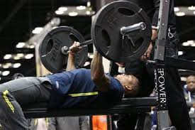 Nfl 225 Bench Press Record Nfl Combine Rudy Ford Leads Safeties In Bench Press Al Com