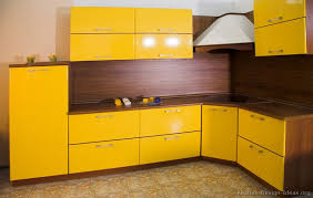 Yellow Kitchen Cabinet Pictures Of Kitchens Modern Two Tone Kitchen Cabinets Kitchen