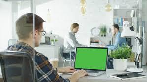 stock bureau of a busy creative bureau diverse cast of solving