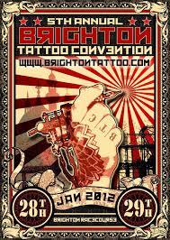 the brighton tattoo convention goes russian propaganda posters