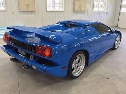 lamborghini diablo roadster for sale s 1997 lemans blue lamborghini diablo vt roadster up for sale