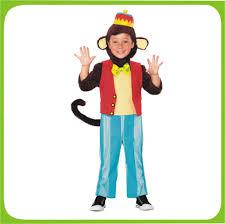 Daniel Tiger Halloween Costume Kid U0027s Boy Brown Animal Cute Monkey Simian Circus Jumpsuit