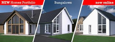 Build Homes Online Scotframe Timber Frame Homes Timber Frame Kit Homes For Self