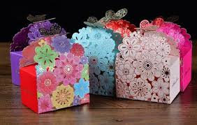 baby shower favor bags 2016 laser cut butterfly floral favor bags paper chocolate candy
