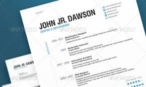 Best Designed Resumes by 20 Best Resume Templates Web U0026 Graphic Design Bashooka
