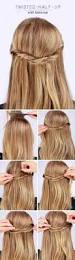 half up half down hairstyles prom hairstyle ideas