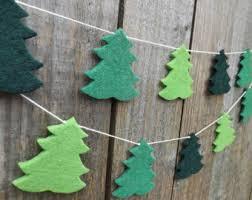 Decorative Christmas Tree Garland by Christmas Tree Decor Etsy