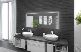 beleuchtete badezimmerspiegel hause deko ideen