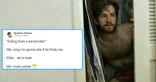 Serial Killer Memes - hiding from a serial killer meme is going viral and we are loving