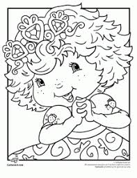 free downloadable strawberry shortcake coloring pages 6