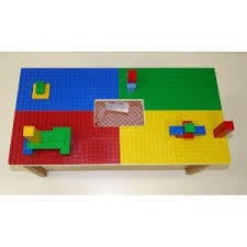duplo preschool play table tables with storage
