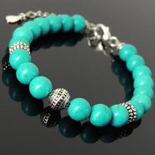 silver energy bracelet images Yoga pilate energy chakra bracelet protection enhanced blue jpg