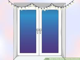 how to make winter window decorations 10 steps with pictures