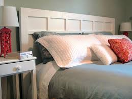 How To Make A Bed Bench How To Make A Simple Cottage Style Headboard How Tos Diy