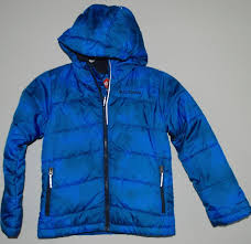 columbia jacket boy s size small 8 omni heat insulated hood