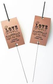 sparkler tags pack of 150 18 inch cheap wedding favours