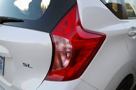 nissan versa tail light review 2016 nissan versa note sl canadian auto review