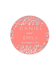 wedding favor labels personalized sticker labels wedding favor labels