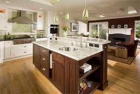 islands in kitchens amazing kitchen island wrap countertop sides modern kitchen