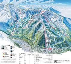 Aspen Map Resort World Aspen Ski Area Trail Map