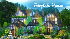 Cottege by The Sims 4 Build Fairytale Cottage Youtube