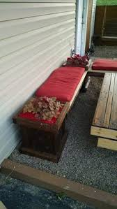 L Bench Buy A Hand Made Pallet Planter Box L Bench And Patio Table Made