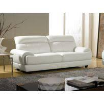 canapé 3 places cuir blanc canape cuir blanc 3 places achat canape cuir blanc 3 places pas