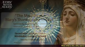 sermon about thanksgiving the magnificat mary u0027s thanksgiving to god sermon by fr jude